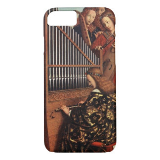 MUSIC MAKING CHRISTMAS ANGELS /Organ Player iPhone 8/7 Case