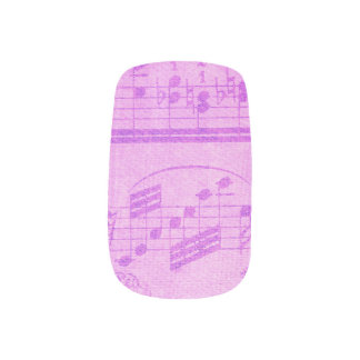 Music Manicure Fingernail Transfers