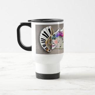 Music Mask TRAVEL MUGS
