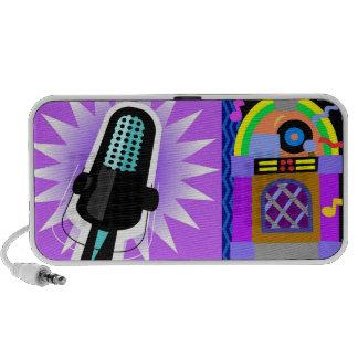 Music Microphone Jukebox Travelling Speaker