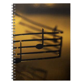 Music Music Music Golden Music Notebooks