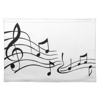 Music (Music) Placemat