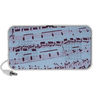 Music/Musician/Glee Club Notebook Speakers
