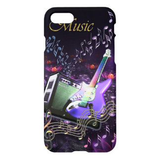 Music Nirvana Heavenly Electric Guitar for iPhone iPhone 7 Case