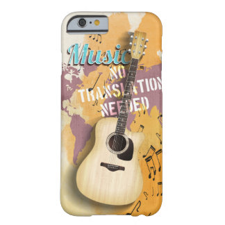 Music no translation needed iPhone 6/6s Cases