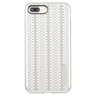 Music Nordic Knit Text ASCII Art Black and White Incipio DualPro Shine iPhone 8 Plus/7 Plus Case