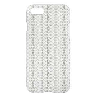Music Nordic Knit Text ASCII Art Black and White iPhone 7 Case