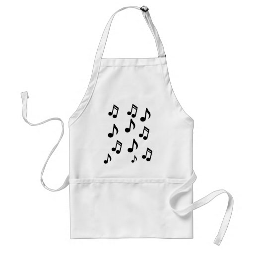 Music Note Apron - Novelty