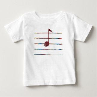 Music Note Art Baby T-Shirt
