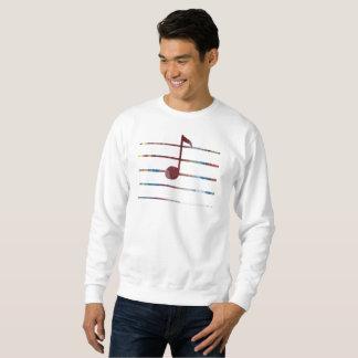 Music Note Art Sweatshirt