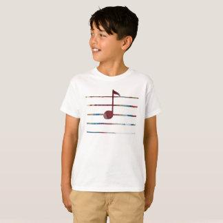 Music Note Art T-Shirt