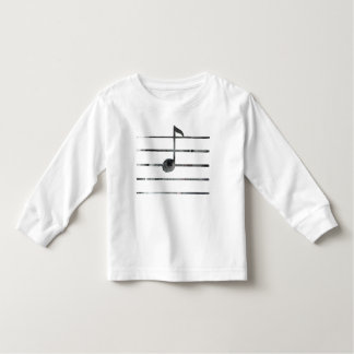 Music Note Art Toddler T-Shirt