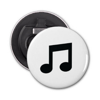 Music Note Bottle Opener Fridge Magnet