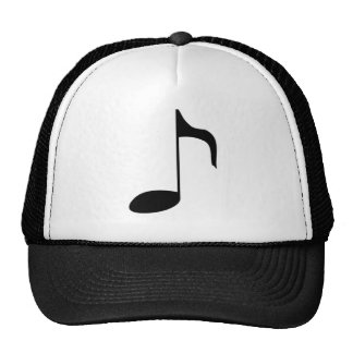 music note cap