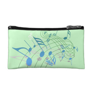 Music Note Cosmetic Bag