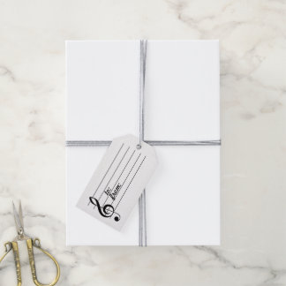 Music Note Gift Tag
