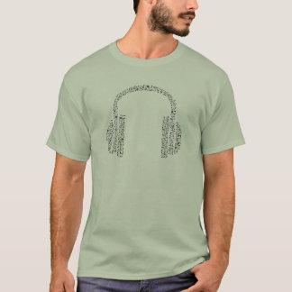 Music Note Headphones T-Shirt