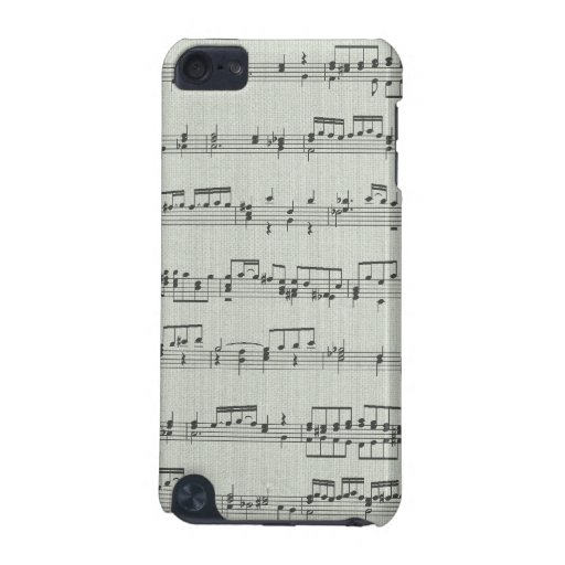 Music Note Ipod Touch Case