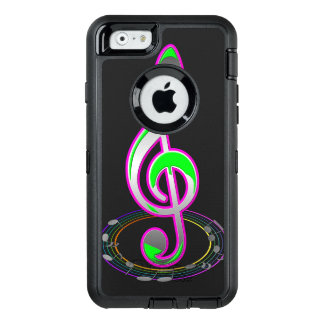 Music Note OtterBox iPhone 6/6s Case