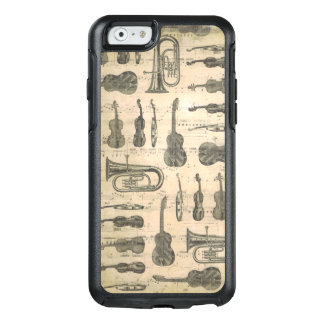 Music Note Otterbox Iphone 6/6s Guitar Tuba Violin OtterBox iPhone 6/6s Case