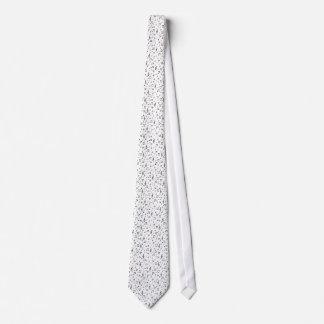 Music Note Pattern Tie