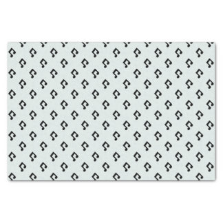 Music Note Pattern Tissue Paper
