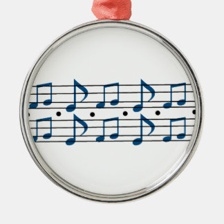 Music Note scale Christmas Tree Ornament