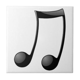 music note symbol ceramic tile