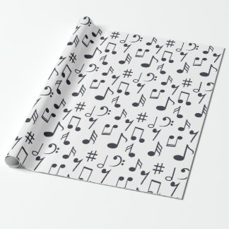 Music Note Wrapping Paper