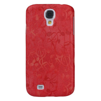 Music Notes 3G/3GS Samsung Galaxy S4 Cover
