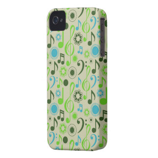 Music Notes and Clefs Case-Mate iPhone 4 Cases