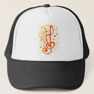 Music Notes Art 2 Trucker Hat