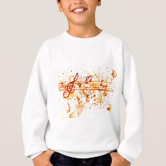 Music Notes Art Sweatshirt