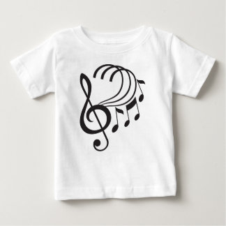 Music Notes Baby T-Shirt