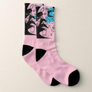 Music Notes Day Dream Socks