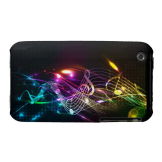 Music Notes in Color for Music-lovers iPhone 3 Covers