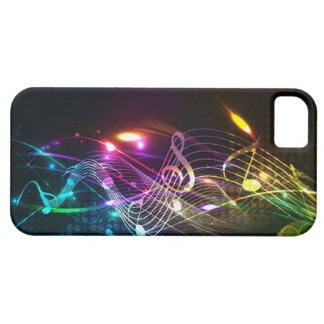 Music Notes in Color for Music-lovers iPhone 5 Covers