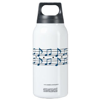 Music Notes Insulated Water Bottle