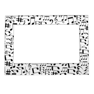 MUSIC NOTES- MAGNETIC PICTURE FRAME