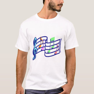 Music Notes Men's t-Shirt
