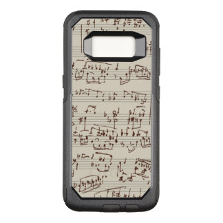 Music notes OtterBox commuter samsung galaxy s8 case