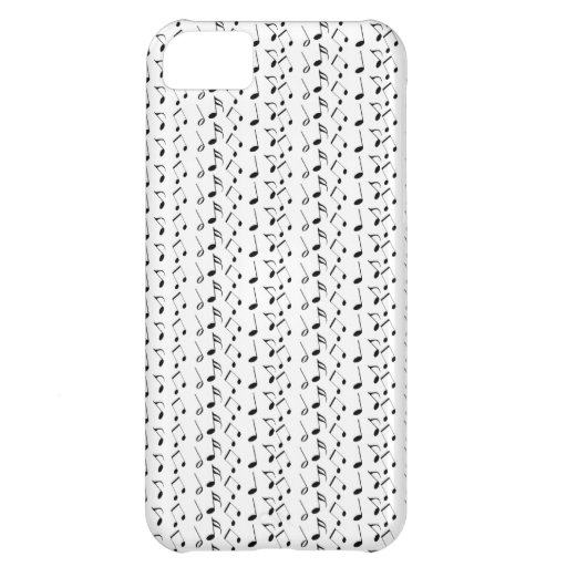 Music Notes Pattern iPhone 5C Case
