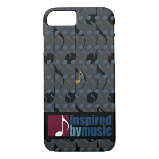 music notes pattern inspired iPhone 7 case