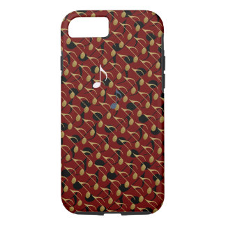 music notes pattern iPhone 7 case