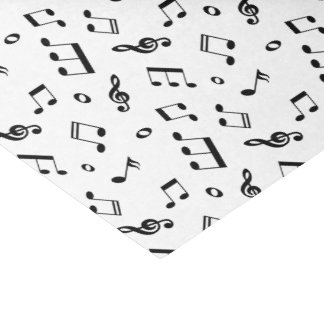 Music Notes Pattern Tissue Paper