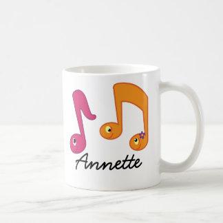Music Notes Piano Musician Personalized Mug