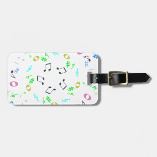 music notes.png luggage tag