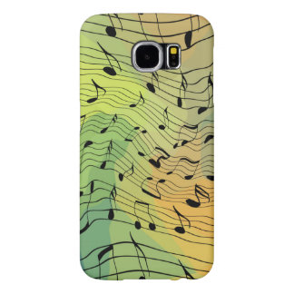 Music notes samsung galaxy s6 cases