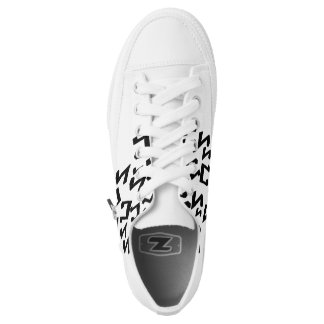 Music Notes Shoes Printed Shoes