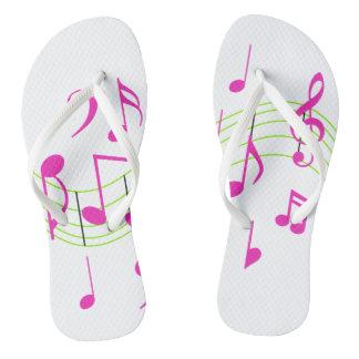 Music Notes Thongs